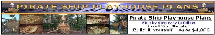 pirate ship playhouse </p><br /><br /> <p>plans